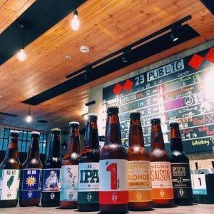 23 Public Craft beer bar 店內裝潢
