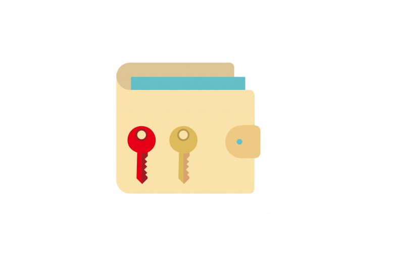 公鑰和私鑰的數位簽章作為虛擬貨幣的證明