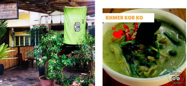 MAOM Restaurant Siem Reap柬埔寨加密貨幣支付商家