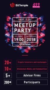 BitTemple 舉辦的活動