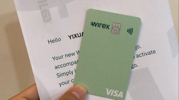wirex信用卡